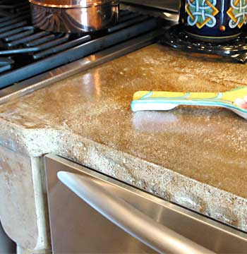 Cioncrete Kitchen Countertops