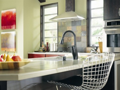 Update Countertops with a Medora Faucet