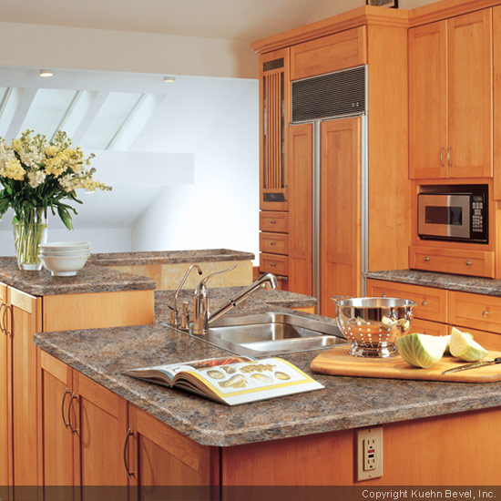 Kitchen Laminate Countertops : ... Using A Laminate Countertop As The Focal Point Of The Kitchen