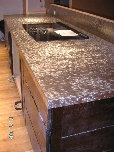 Stainless Kitchen Countertop